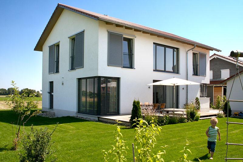 Holzfenster modern  Holzfenster Kneer :: Drei H Fenster-Toren-Türen GmbH